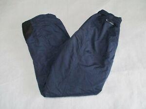 Columbia Medium Vented Ski Snow Blue  Pants Tech Pants Womens Adult
