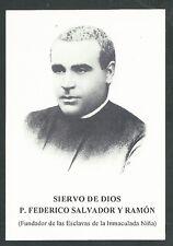 Estampa del Siervo Federico andachtsbild santino holy card santini