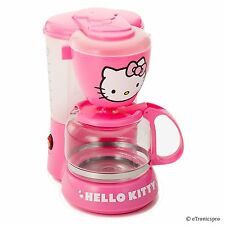 HELLO KITTY APP-36209 KITCHEN APPLIANCE ELECTRIC COFFEE MAKER MACHINE PINK NEW