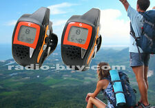 GS-077ST USB Watch walkie talkie w FM Radio (FRS 462MHz,2-Way,licence free) hike