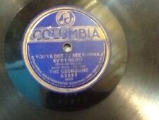 Georgians You've Got To See Mamma Ev'ry Night/You Tell Her-I Stutter Columbia 78