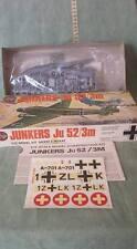 AIRFIX JUNKERS JU 52/3M 1/72 MODEL KIT 1975 VINTAGE TOYS BRAND NEW