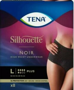 TENA Lady Silhouette Pants Plus High Size Large Pack of 8 free postage