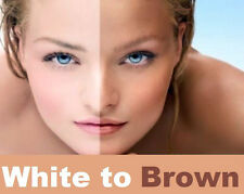 WHITE TO BROWN FAKE TAN AIR BRUSH SPRAY TANNING WHITETOBROWN SOLUTION 12.5% DHA