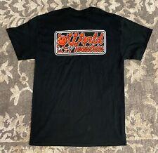 World Industries Retro Devil Black Red Mens Sz Medium Skateboards T Shirt New!