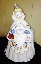 VINTAGE METLOX CINDERELLA COOKIE JAR GREAT CONDITION
