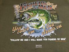 Fishers Of Men T Shirt Keeusso Medium