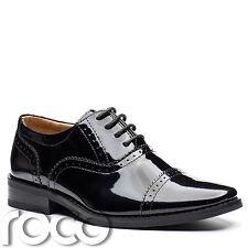 Boys Patent Black Shoes, Boys Brogues, Black Patent Shoes, Boys Shoes