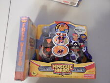 Fisher Price Rescue Heroes Mission Select Roger Houston Talking Figure