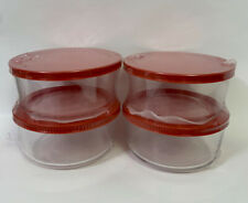 4 Cup Glass Food Storage Container Set of 4 Brand New in Packaging