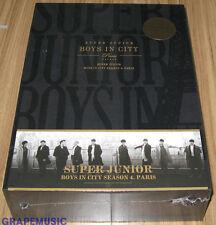 SUPER JUNIOR BOYS IN CITY SEASON 4. PARIS S.E PHOTOBOOK + DVD + DIARY + POSTERS