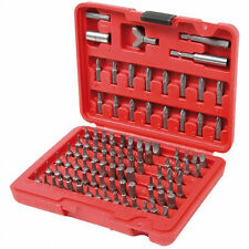 100 Piece Screwdriver Screw Driver Magnetic Drill Bit Security Set Cluth Driver