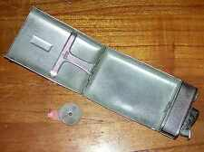 VINTAGE 1952 MID-CENTURY MODERN EVANS CAGARETTE CASE LIGHTER METAL WALLET HOLDER