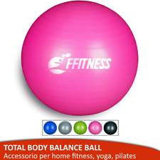 HOME FITNESS FIT BALL 55-95 YOGA PILATES GYM PALLA SVIZZERA ANTISCOPPIO PALESTRA