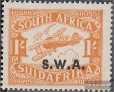 Namibië - Southwest 137II met Fold 1930 Flugpostmarken