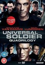 Universal Soldiers Quadrilogy 5055201822635 DVD Region 2