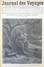 JOURNAL DES VOYAGES N° 797 de 1892 AVENTURE MER MOEURS ILES MALAISIE DANSEUSES