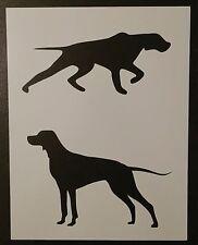 "English Setter Setters Pointer Dog 8.5"" x 11"" Custom Stencil Fast Free Shipping"