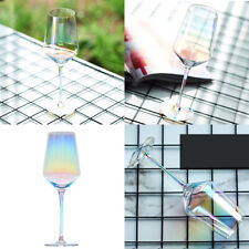 4x Colorful Wine Glass Drinking Glasses Picnic Wedding Birthday Party 450ML