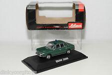 SCHUCO 02165 BMW 2000 POLIZEI DARK GREEN MINT BOXED