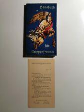Rar! Handbuch für Krippenfreunde 1967 Krippe Weihnachtskrippe Bayern Verein 50 J
