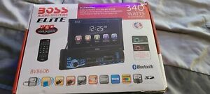 "BOSS Audio Elite BV860B Car DVD, Bluetooth, 7"" Touchscreen, RGB Illumination"