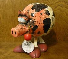 "ANIMAL ANTICS #4827-1 HOG BOBBLE BODY, 8"" From Retail Store by RANGER, Ceramic"