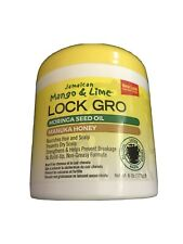 """Jamaican Mango & Lime """"Lock Gro"""" Nourishes Strengthens Hair And Scalp 6oz"""