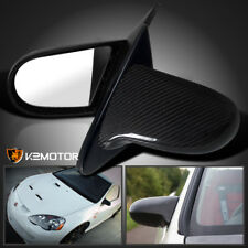 2002-2006 Acura RSX Real Carbon Fiber Power JDM Mirrors Left+Right