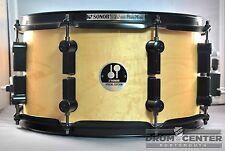 Sonor Black Mamba Maple Snare Drum 13x7 Natural Gloss