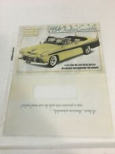 DANBURY MINT 1956 DESOTO FIREDFLITE CONVERTIBLE *BROCHURE ONLY *