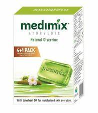 Medimix Ayurvedic Glycerine Soap, 125g x 5 (Pack of 5 Soap)
