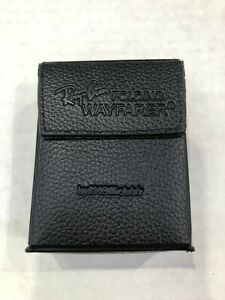 NEW Ray Ban Genuine Black Folding WayFarer Case with cleaning cloth and booklet
