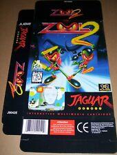 Atari Jaguar 64-Bit Games Console Original Zool 2 Game Box NEW P/N: J9042E