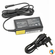 BATTERY CHARGER For Toshiba Satellite A135  + 3 PIN POWER CABLE