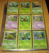 Pokemon Card/Tarjeta:4 Treecko, 4 Grovyle, 1 Sceptile Card Set
