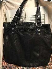 Lucky Brand Leather Hobo Shoulder Handbag Italian Leather Distressed