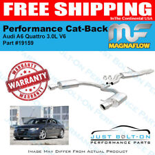Magnaflow Touring SS Cat-Back For 2012-2015 Audi A7 Quattro 3.0L V6 #19159
