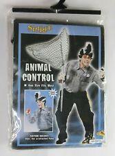 Spirit Halloween Animal Control Unisex Costume Shirt & Skunk Hat PLEASE READ NIP