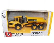 Volvo A25G Articulated Hauler 1:50 Die-cast Metal Scale Model Toy Bburago New