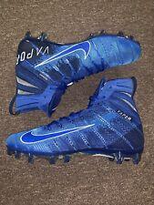 Nike Vapor Untouchable 3 Elite Cleats Blue Ah7408-401 Men's Size 11 Nwob