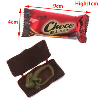 2pcs Simulation Chocolate Gadgets Prank Jokes Tricks Props Candy Scary Toys FE