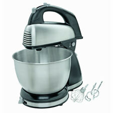 Classic Stand Mixer 6 Speed Hamilton Beach Kitchen Cooking Dough Bread Cake Mix