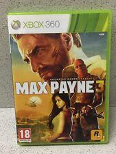JEU XBOX 360  MAX PAYNE 3 AVEC NOTICE