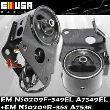 Front+Rear Engine Mount for Nissan 02-04 Altima 03-07 Murano 3.5L A7358 A7349EL