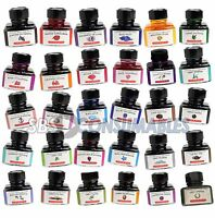 J. Herbin Fountain Pen Ink 30ml In Glass Bottle Choice Of 30 Rich Bright Colours