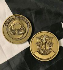 """SCUBA SPECIAL FORCES Combat Diver SFG """"De Oppresso Liber"""" Challenge Coin"""