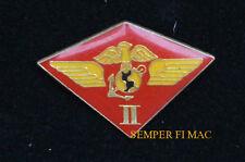 2ND MAW MARINE AIR WING MAW HAT PIN US MARINES MCAS CHERRY POINT USMC II MEF WOW
