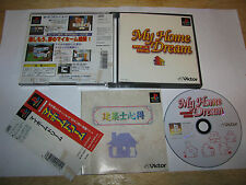My Home Dream Playstation PS1 Japan import + spine