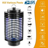 Electric UV Mosquito Fly Bug Insect Zapper Killer Trap Lamp 110V Stinger Pest US
